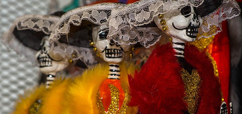 Figurines de Catrinas, Mexique
