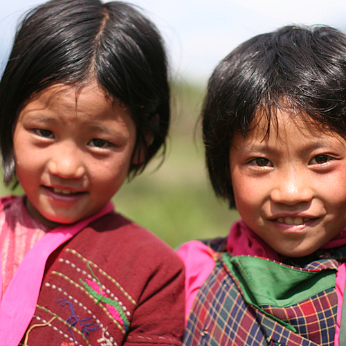 Au Bhoutan chez l'habitant - Paro -