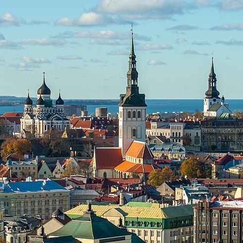 Tallinn, cité médiévale -