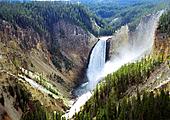 Randonnée vers le Grand Canyon de Yellowstone