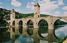Chemin de Compostelle, de Conques à Cahors par la vallée du Célé
