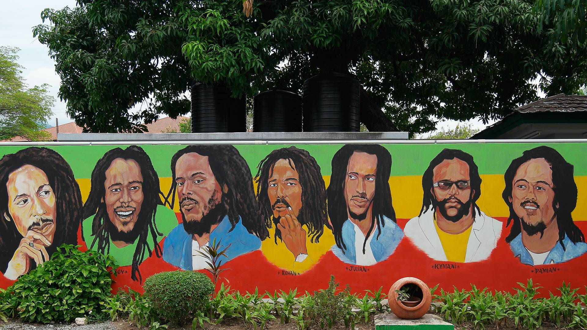 Sur les traces de Bob Marley