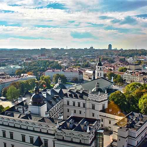 Trois capitales baltes version charme - Vilnius -