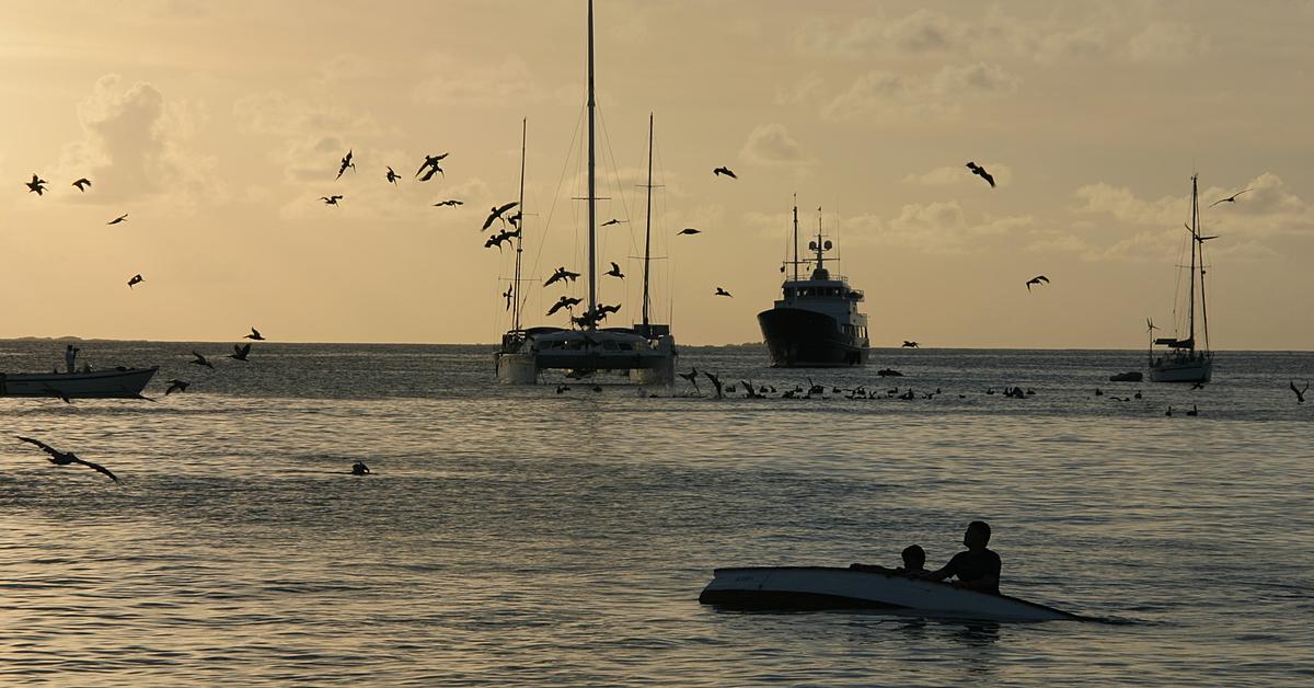Voyage sur l'eau Venezuela : Croisière en voilier de Los Roques à Bonaire.