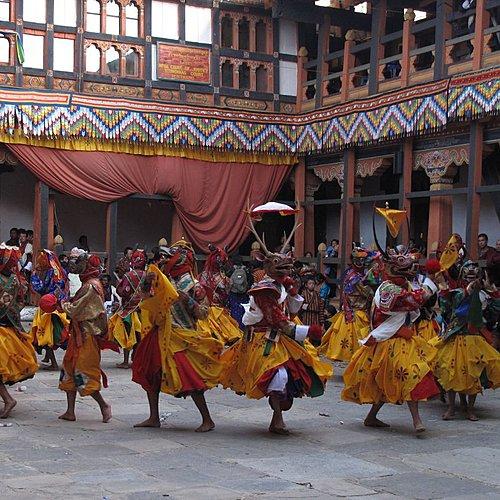 Festival du Bhoutan - Delhi -