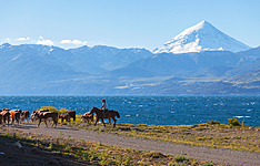 Patagonie rurale, communauté et glaciers