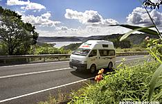 La côte sud en camping-car