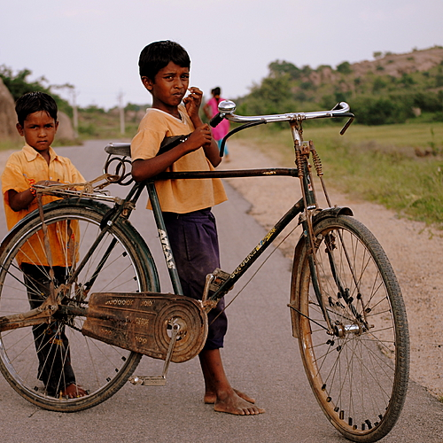 Les merveilles du Kerala à vélo -