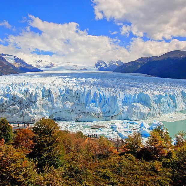 Le glacier Perito Morena en Patagonie.