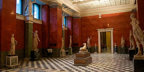 L'intérieur du musée de l'Ermitage