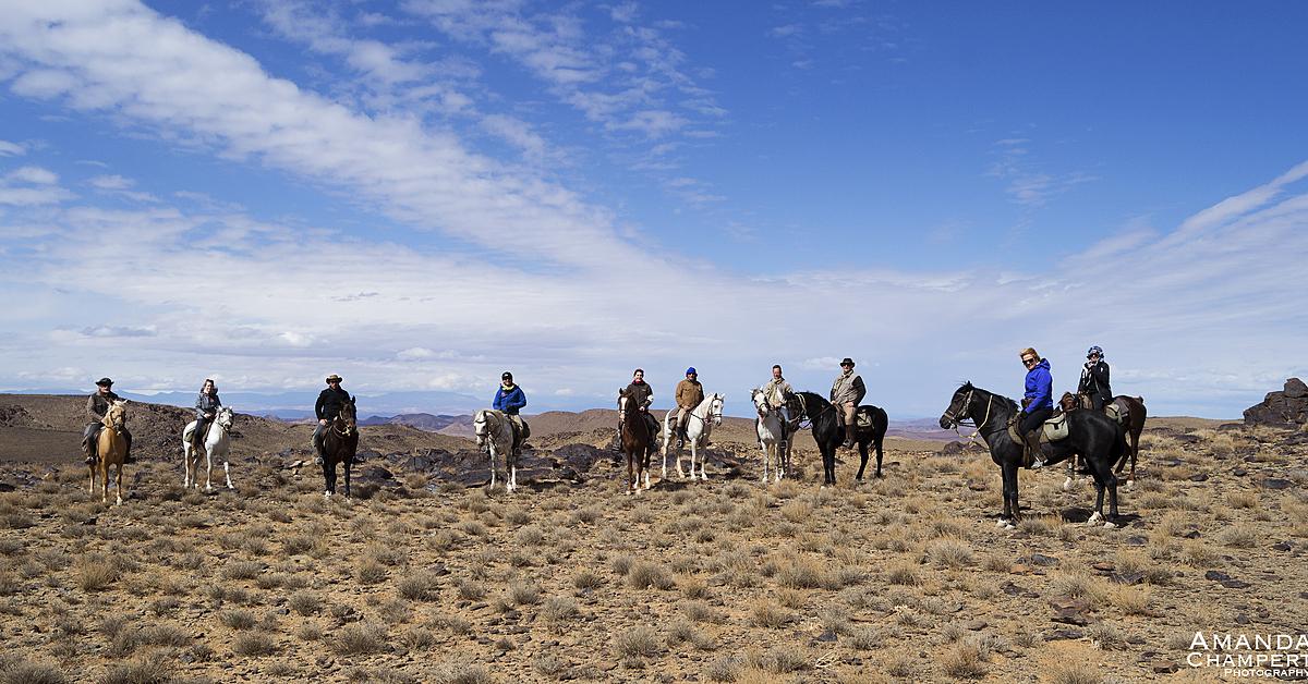 Voyage avec des animaux Maroc : Villages et Terrasses du Toubkal à Cheval