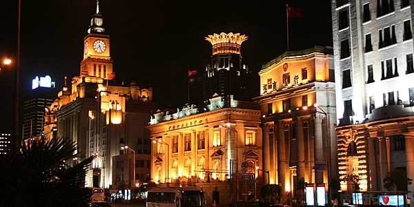 Le Bund de Shanghai