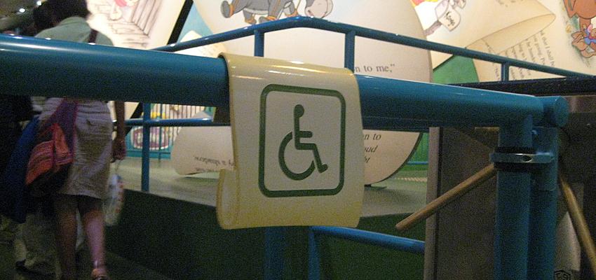 Un pictogramme pour les personnes en situation de handicap