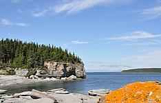 Le long du fleuve Saint Laurent