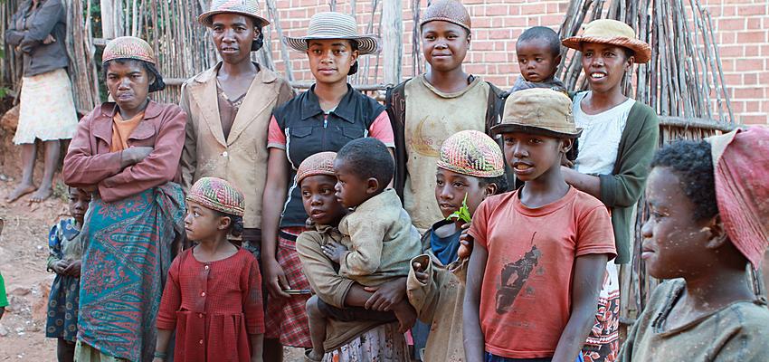 Une famille malgache