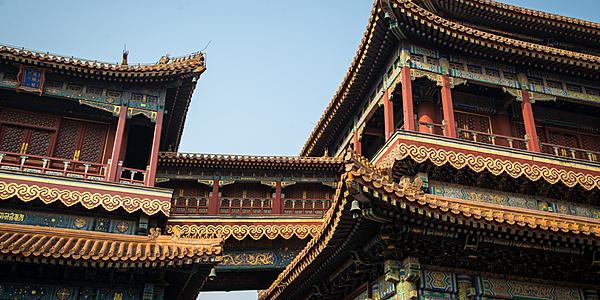 Les temples en Chine