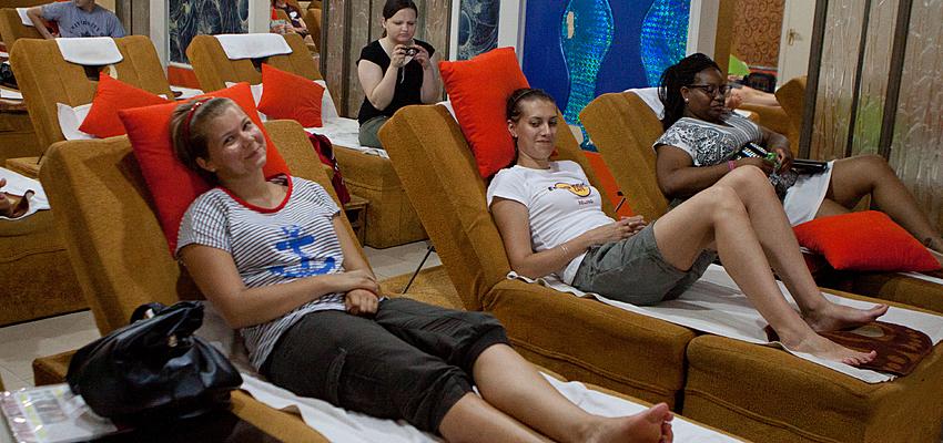 Un salon de massage à Pékin