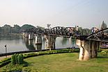 Rivière Kwai en Thaïlande