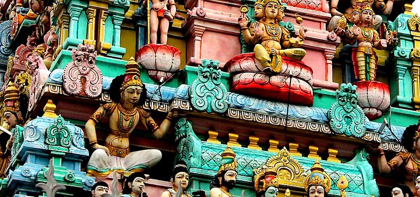 Temple bouddhiste à Singapour