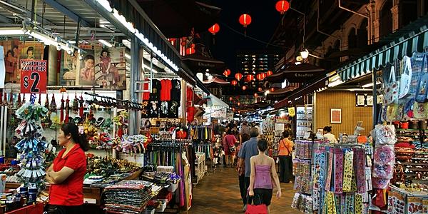 Chinatown de Singapour