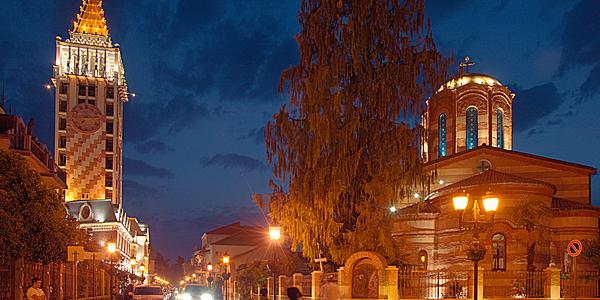 La ville de Batumi