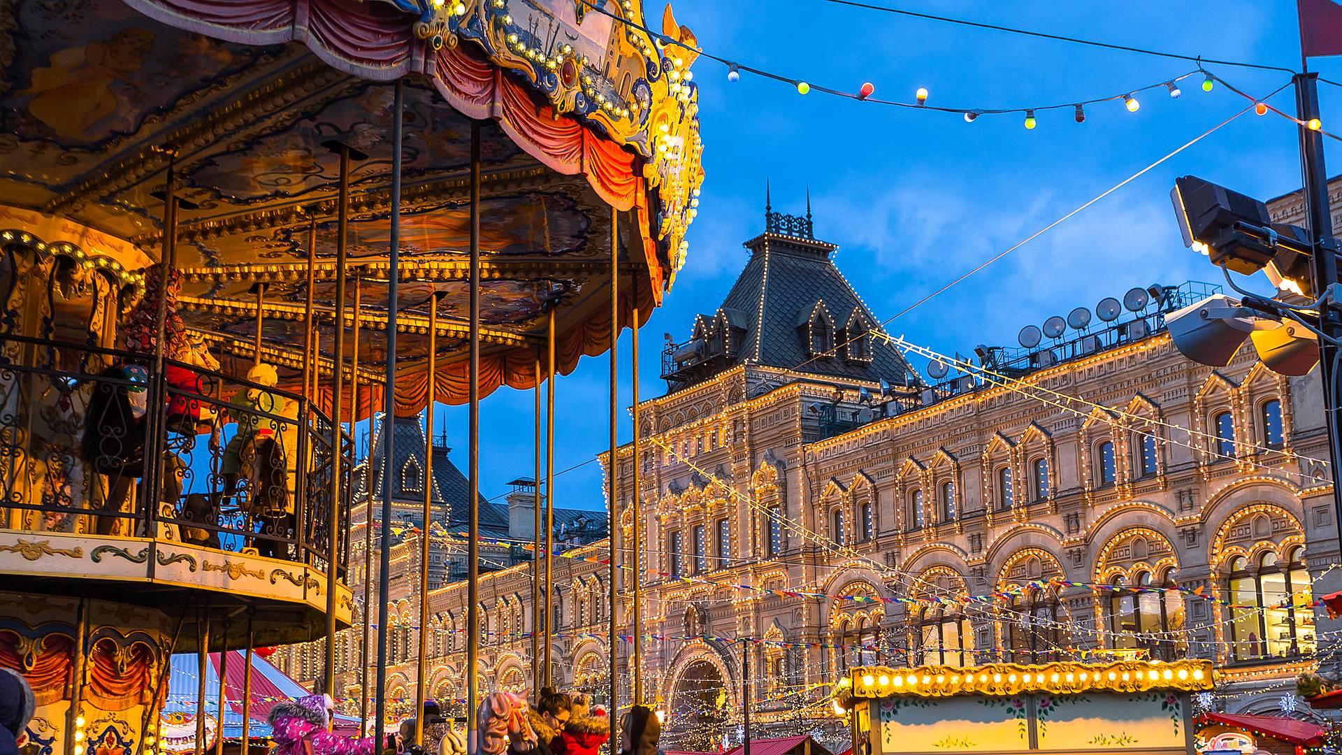 Winterreise nach Moskau und St. Petersburg