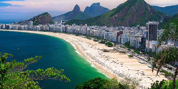 Plage de Copacabana, Rio de Janeiro