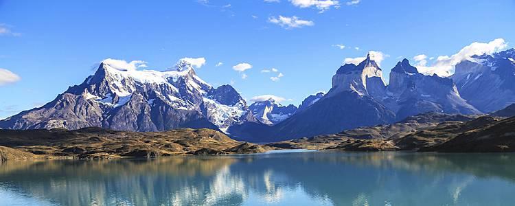 La grande boucle : glaciers de Patagonie, lacs et désert d'Atacama