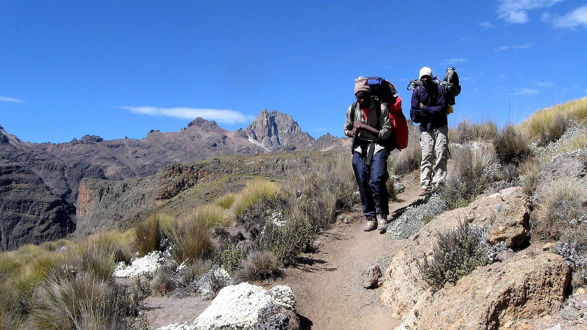 Ascension du Mont Kenya et safari à Nakuru