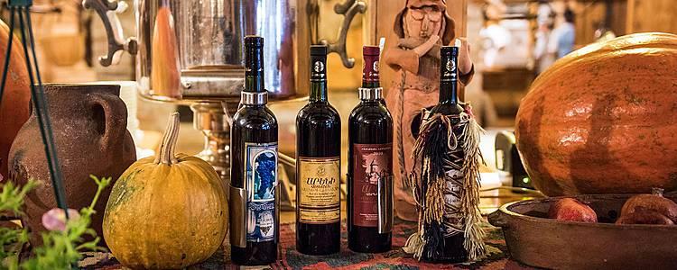 Geheimnisse der kaukasischen Weine