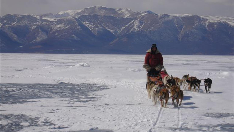 Image Khuvsgul, traversée en traîneau à chiens