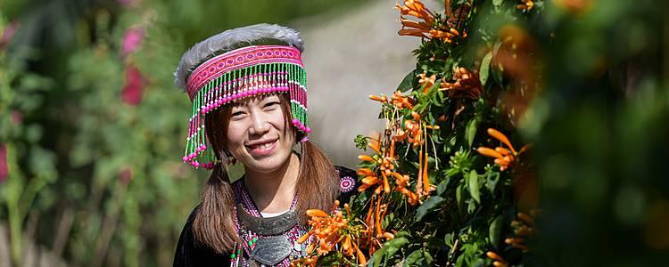 Templi e scoperta dell'etnia Kayan