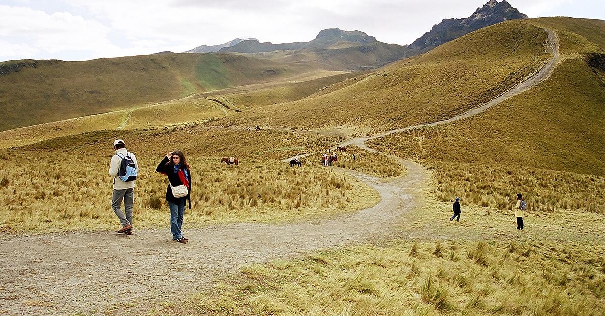 Voyage à pied : Trekking sur les sentiers des Andes
