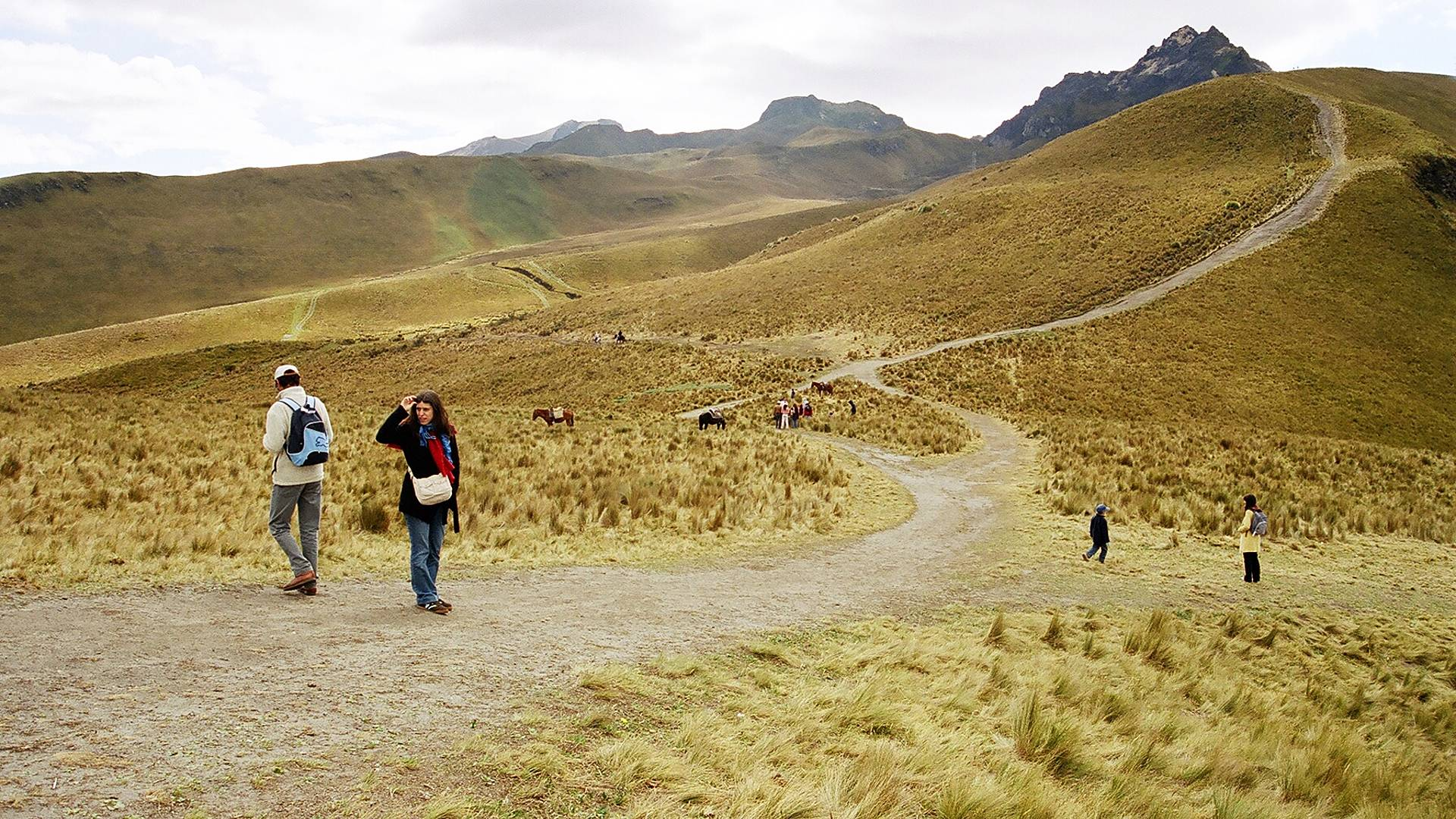 Trekking sur les sentiers des Andes