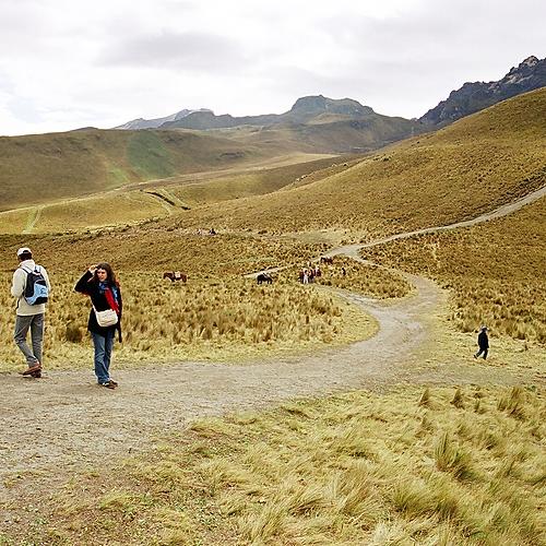 Trekking sur les sentiers des Andes - Quito -