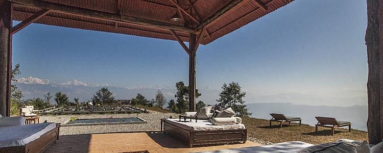 Luxusmoment im Land des Himalayas