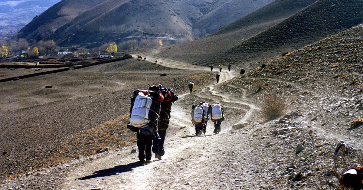 Voyage à pied Nepal : Trek de l\'Annapurna en lodge communautaire