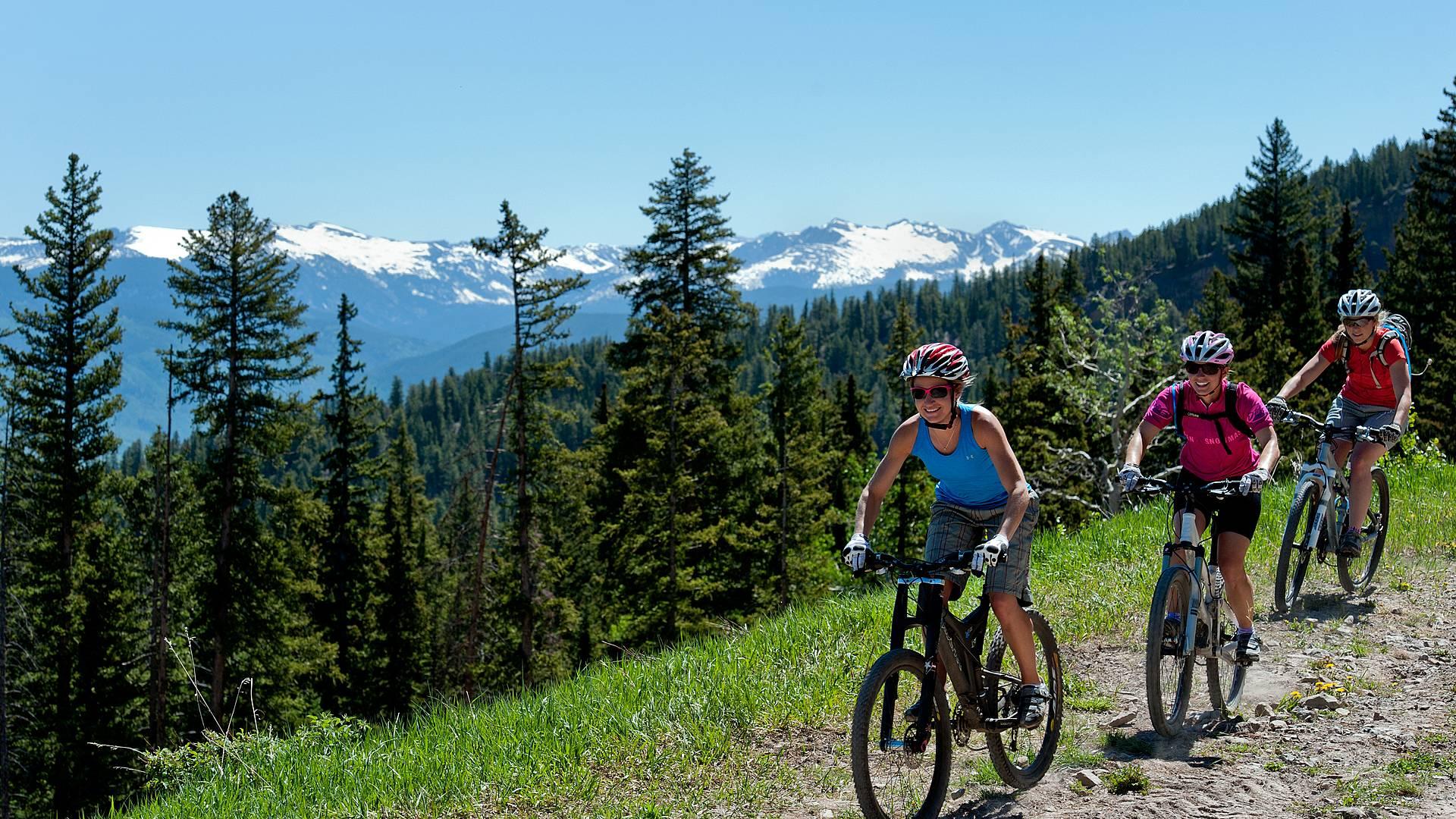 Esperienza in mountain bike