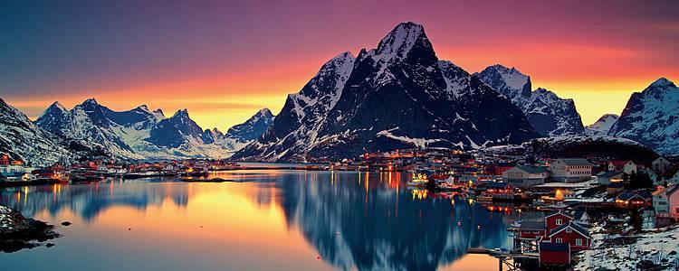 Couleurs arctiques -Tromsø, les îles Vesterålen et Lofoten en hiver