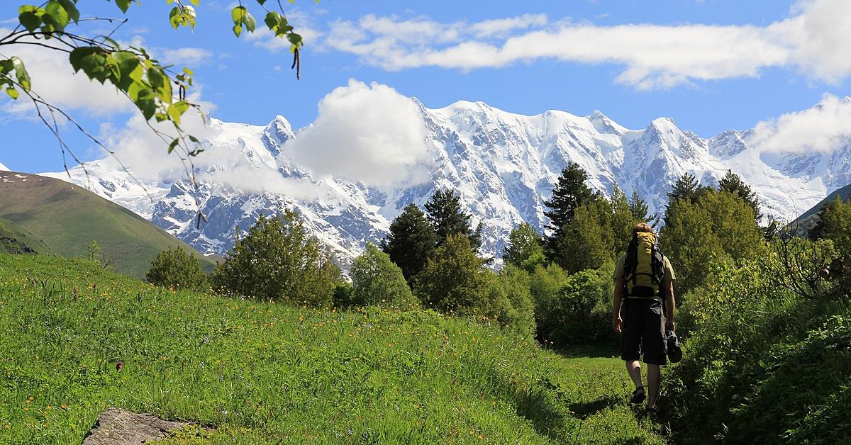 Voyage à pied : Randonnée, du Grand Caucase à la Mer Noire