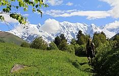 Randonnée, du Grand Caucase à la Mer Noire