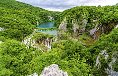 De Zagreb à Dubrovnik via l\'Istrie , le parc national de Plitvice de Plitvice et l\'île de Korčula