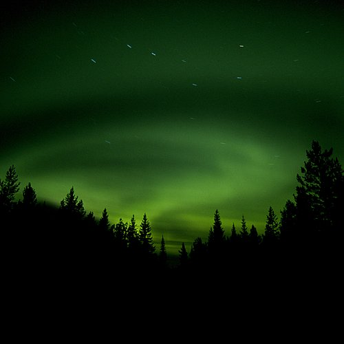 Aurores boréales et Laponie suédoise - Kiruna -