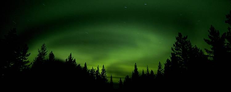 Aurores boréales et Laponie suédoise