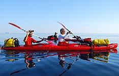 Dalmatie du Nord en kayak de mer