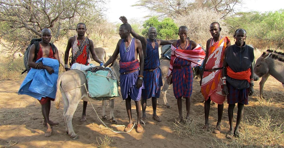 Voyage avec des animaux : Trek et safari en famille au pays des Masaïs