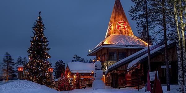 Le village du Père Noël, Rovaniemi