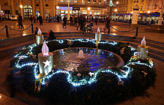 Zagreb en hiver
