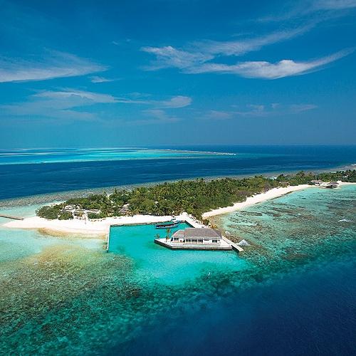 Oblu by Atmosphere at Helengeli, l'aquarium grandeur nature - Malé -