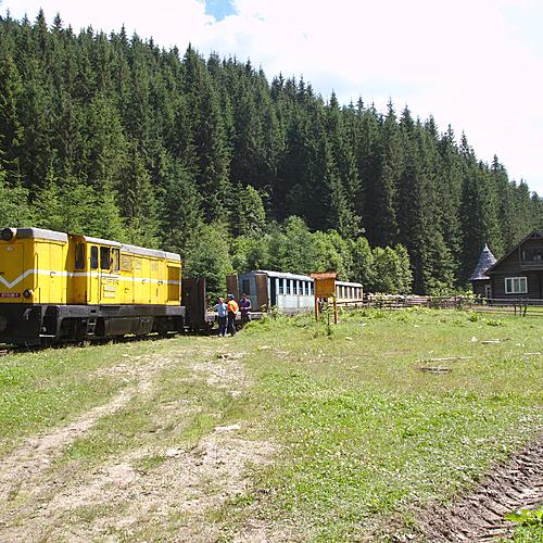 La Roumanie en train -